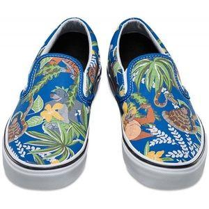 Vans Slip-On (Disney) Jungle Book Shoes sz 6.5
